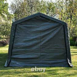 10x15x8ft Outdoor Tent Auto Storage Shed Shelter Portable Garage Steel Canopy