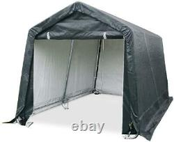 Quictent 8'X8' Heavy Duty Storage Shed Garage Outdoor Car Shelter Carport Canopy