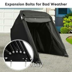Quictent Heavy Duty Motorcycle Shelter Storage Cover Outdoor Garage With Carry bag