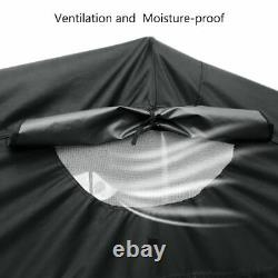 Quictent Large Motorcycle Shelter Outdoor Heavy Duty Shed Cover Storage Tent US