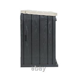 Toomax Stora Way All-Weather Outdoor Horizontal Storage Shed Cabinet, 30 cu ft